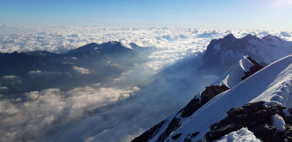 Auf dem Gipfel des Eigers