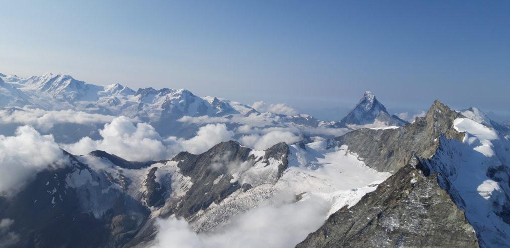 Blick zum Matterhorn